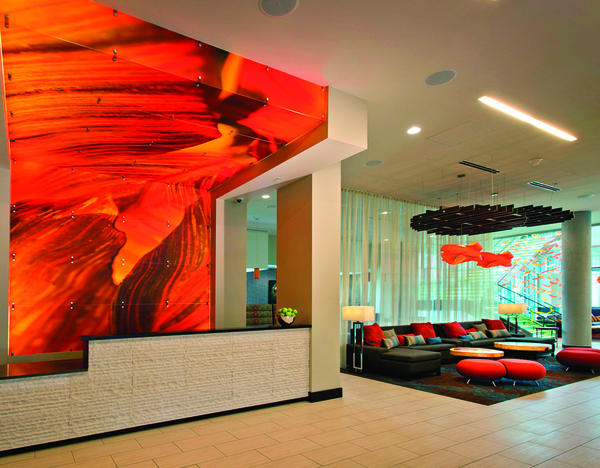 Artsy lodgings display stellar art collections colorado for Springhill designs